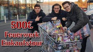500€ SILVESTER FEUERWERK EINKAUFSTOUR 2018/2019 | FireworksandBalloons