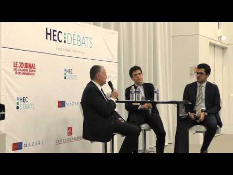 Jean-Michel Aulas à HEC Débats - Conférence