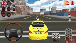 3D polis arabası oyunu gerçek #22    polis arabası oyunları - güzel araba oyunları - Android games