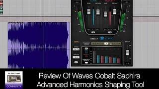 Review Of Waves Cobalt Saphira Advanced Harmonics Shaping Tool