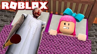 HAVE a GRANNY in MY BED of ROBLOX!