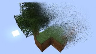 Minecraft Skyblock Survival, but there