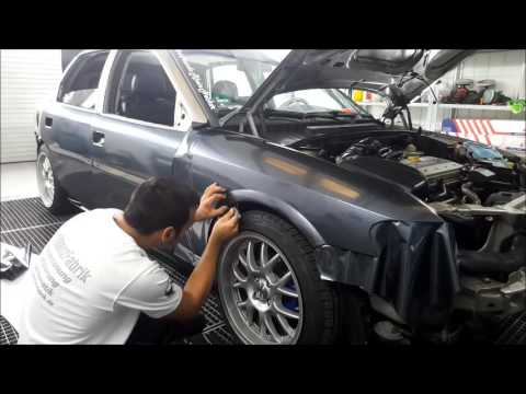 Car Wrapping Opel Vectra B