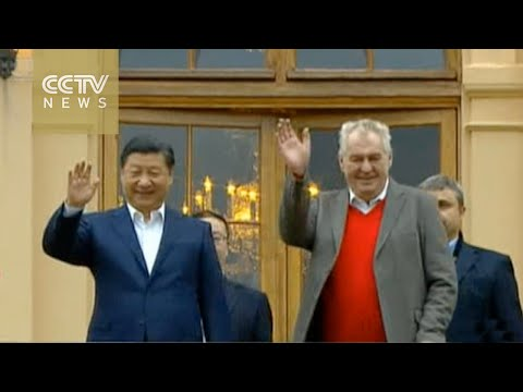 President Xi Jinping in Czech Republic for three-day state visit