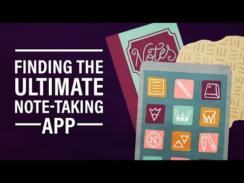 The Search for the Ultimate Note-Taking App