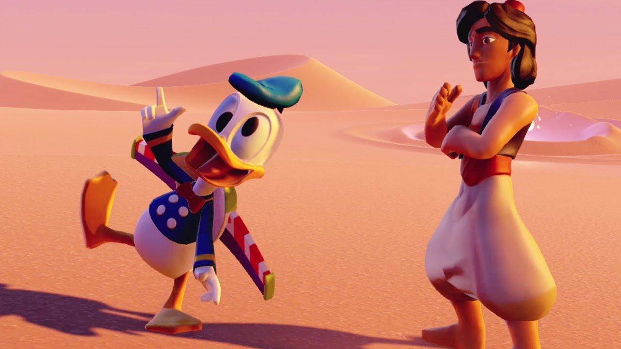Disney Treasure Hunt Aladdin Stitch Merida Donald