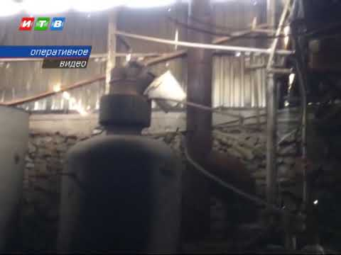 ТРК ИТВ: Полицейские нашли подпольный алкоцех в Кировском районе