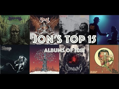 Jon's Best 15 Albums of 2018! | Metal Reacts Only | MetalSucks