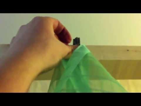 Как повесить москитную сетку с магнитами видео