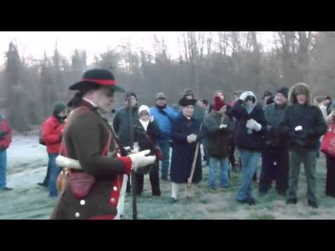 Princeton Battlefield tour in real time