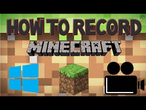 How to Record Minecraft with Windows 10 Screen Recorder