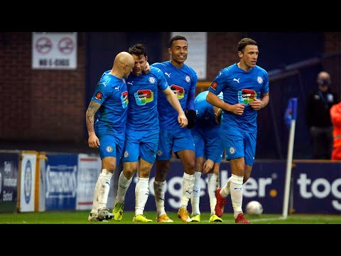 FA Cup - Stockport County Vs Yeovil Town - Match Highlights - 29.11.2020