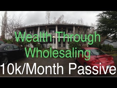 How I Built Wealth Through Wholesaling Houses- 10K/Month In Passive Income Through Rentals