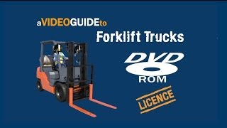 Licence to operate a Forklift - Training DVD Video Sample