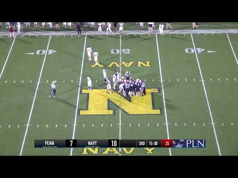 2019 Navy Sprint Football Game Highlights - Penn