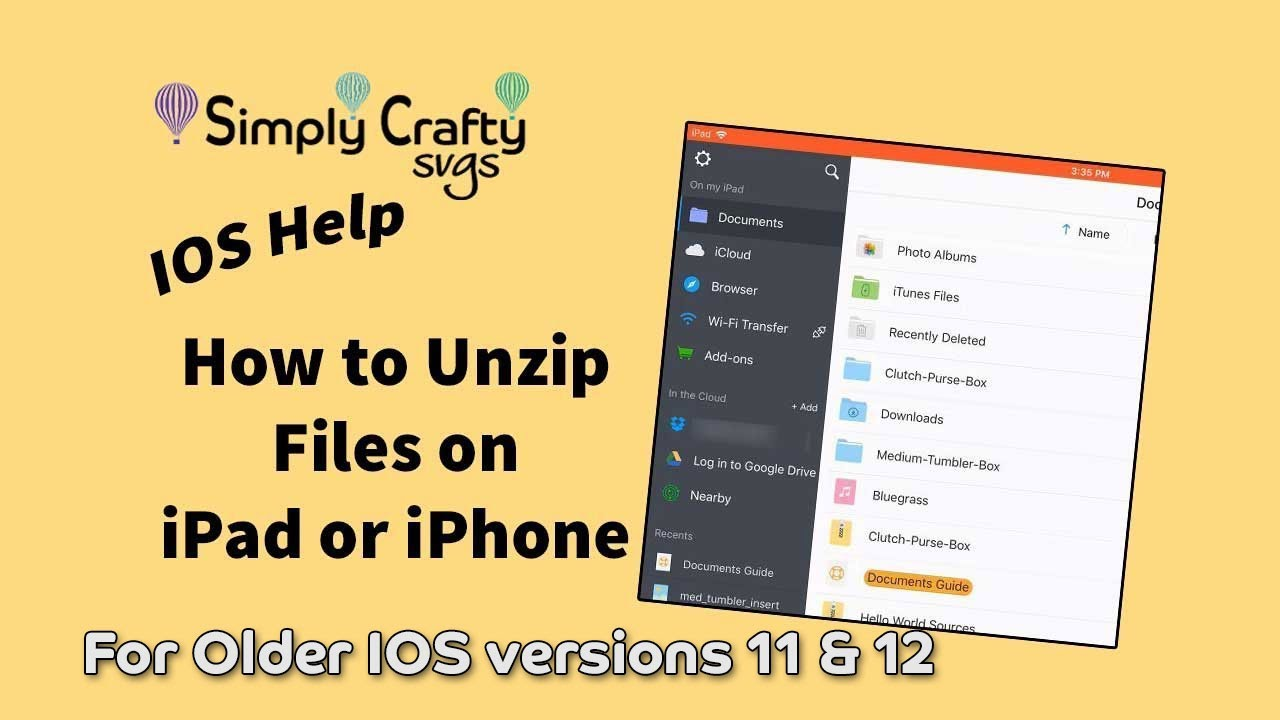 How to Unzip Files on iPad or iPhone (2 Methods)