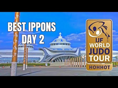 Best ippons in day 2 of Judo Grand Prix Hohhot 2018