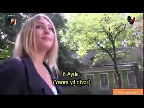 Pul qarsiliginda qrup seksini qebul eden Cexiyali qiz Türkçe Altyazı