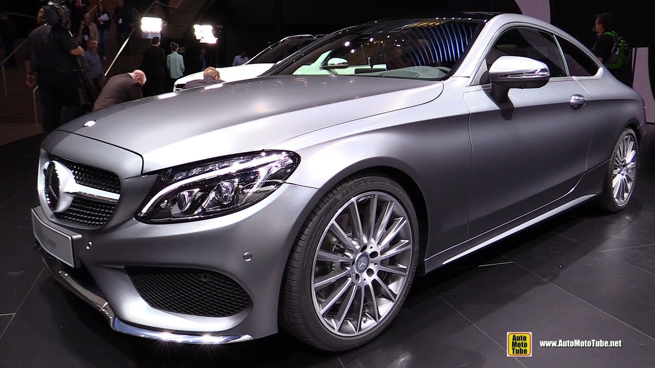 2016 mercedes c class coupe exterior and interior. Black Bedroom Furniture Sets. Home Design Ideas