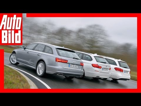 Audi A6 Avant vs. BMW 520d Touring vs. Mercedes E 250 T-Modell