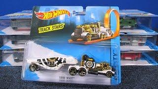 Hot Wheels Trackin' Trucks, Track Stars Trucks, USA and International samples