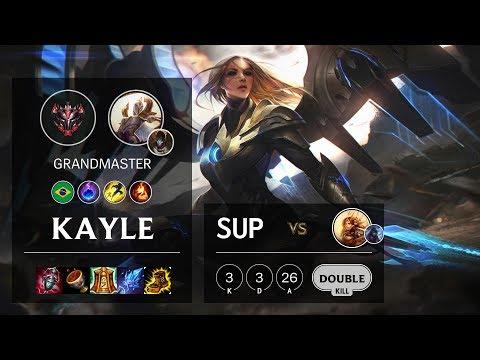 Kayle Support Vs Leona - BR Grandmaster Patch 10.3
