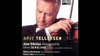 Arve Tellefsen   Sibelius, Valen Violin Concerto