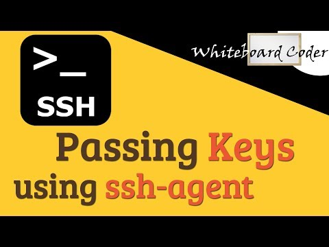 Linux Cmd Line: Passing Keys Using Ssh-agent
