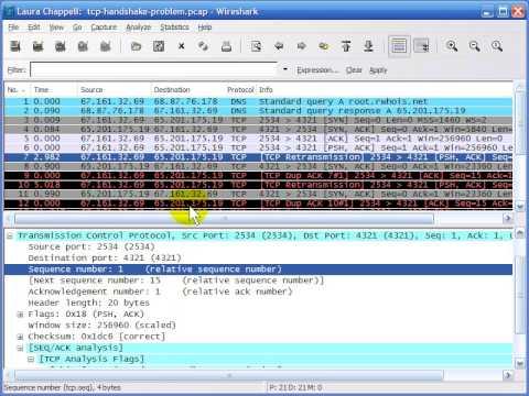 Wireshark TCP-IP Network Analysis WSU02 07 tcp