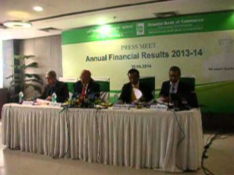 Orient Bank of Commerce Annual results 2014:  DSCN4215