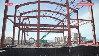 Строительство стадиона «Водник» в Петропавловске-Камчатском