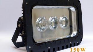 Мега прожектор на 150W с линзами. Часть 1. Обзор.