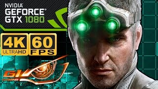 Splinter Cell  Blacklist 4K 60FPS GTX 1080 G1 Gaming