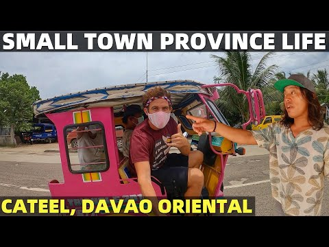 PHILIPPINES PROVINCE LIFE - Small Town and Beach House Living In Davao Mindanao