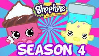 SHOPKINS SEASON 4 ❤ New Departments Petkins Petshop Garden Party Time Toys