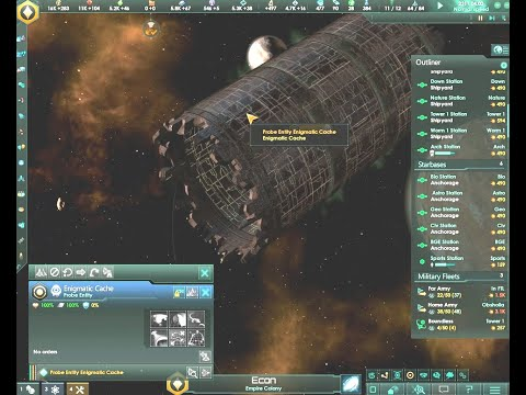 Stellaris Megacorp - Part 11 - The Enigmatic Cache Journey |