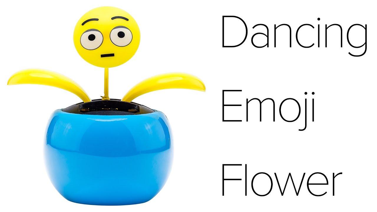 Dancing Emoji Flower Review