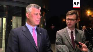 Kosovo PM comments after day of talks with Serbian counterpart on North Kosovo