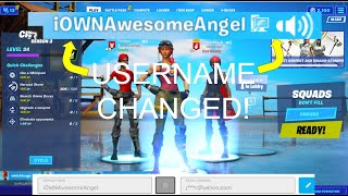How To Change Your Epic Games Username 2020  Fortnite