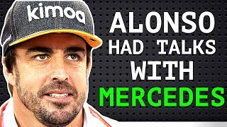 """Alonso Gives His Conditions For F1 Comeback - Verstappen """"Better Chassis Than Ferrari"""""""