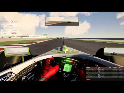 Formula Master Losail Qatar onboard Assetto Corsa DOHA F1