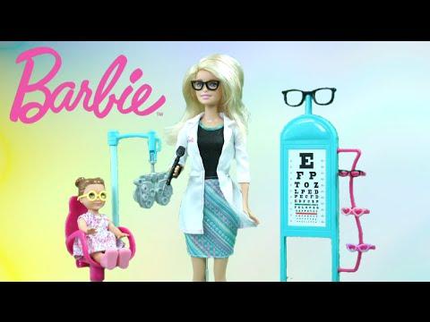 Barbie eye doctor from mattel
