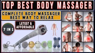 Magic Massager Complete Body Pain amp Muscles Pain Relief Massager Full Demo In Hindi
