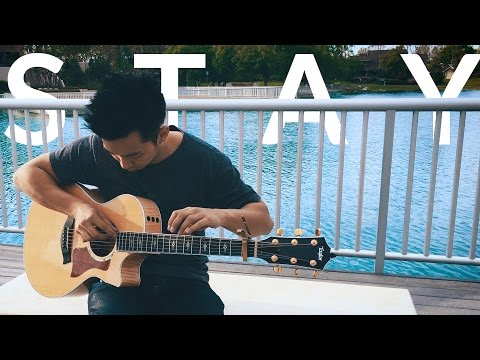 Stay (Zedd with Alessia Cara) -  Fingerstyle Acoustic Guitar Cover