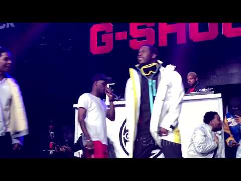 ASAP Rocky , ASAP Ferg , ASAP MOB  Live At G Shock 35th Anniversary Concert in NYC at MSG