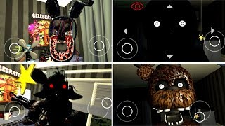 The Joy of Creation: Story Mode ALL JUMPSCARES (Android)