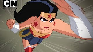 Justice League Action | Best of Wonder Woman | Cartoon Network