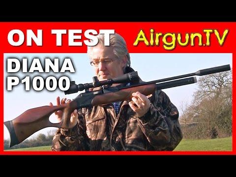 REVIEW - Diana P1000 air rifle PCP