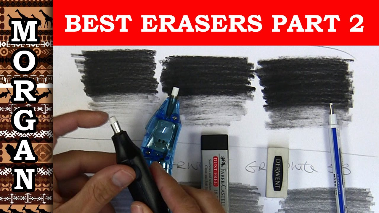 ultimate eraser review part 2 electric erasers faber castell