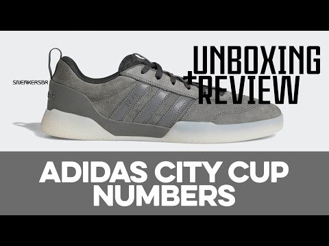 UNBOXING+REVIEW adidas City Cup X Numbers YouTube